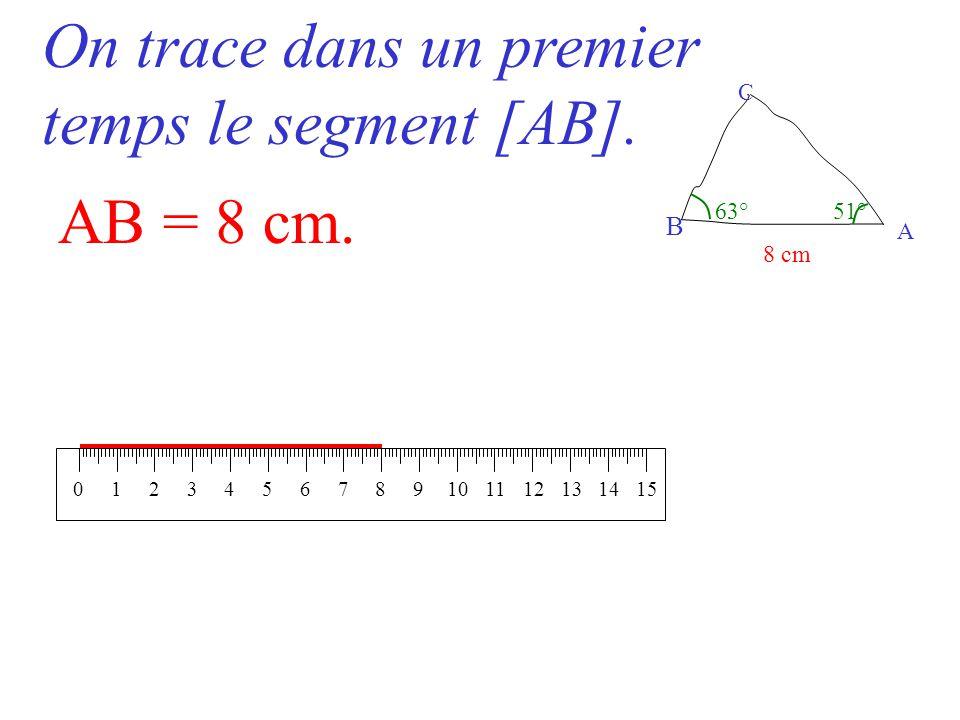 Construire un triangle abc v rifiant ab 8 cm ppt for Dans un premier temps
